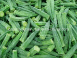 IQF Frozen Whole Okra