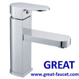 High Quality Basin Faucet in Chrome Finish