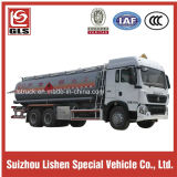 Tri-Axle 6X4 HOWO Chassis 22000L Oil Tanker