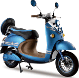 Hot 60V 800W Powerful E Motorcycles Electric Scooter (AM-Diol III)