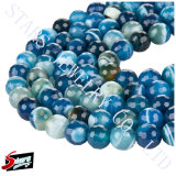 Semi Precious Stone Nature Agate Gemstone Lace Agate Colorful Agate (Agate with line)