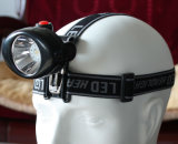 LED Rechargeable Miners Headlamp (1.4Ah)