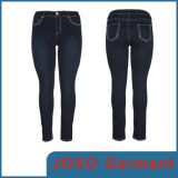 Women Denim Plus Size Leggings (JC1096)