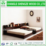 Luxury Modern Style Comfortable Wood Double Sofa Bed Designs