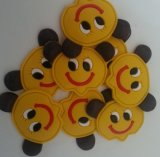 Hot Salt Yellow Smile Face Soft PVC