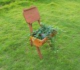Wooden Garden Planters Outdoor Plants Flowers Pot Display