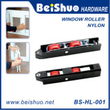 Window Rollers with Nylon Surface and Embedded Nylon Wheel