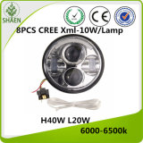 5.75 Inch LED Car Light for Harley Motorcycle