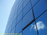 Low E Double Triple Glazed Insulated Glass Curtain Wall Assembly