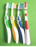 Cartoon Design Tongue Clean as Sucker Kids Toothbrush (6-12years)