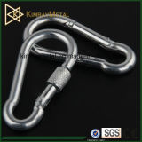 Stainless Steel Wire Rope Spring Snap Hook with Screw Nut