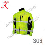 Men′ S Protective Safety Jacket with Reflective Tape (QF-524)