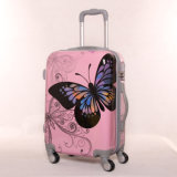 New Butterfly Luggage Pull Rod Suitcase Suitcase Universal Wheel Chassis 2024 Inches