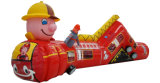 Train Themed Inflatable Tunnel Inflatable Playground Inflatable Obstacle for Sale