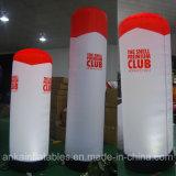 2m Height Inflatable Tube Pillar Column LED Lighting Decoration