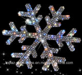 Crystal Sticker Self Adhesive Snowflake Czech Crystal Car Sticker 3D Car Accessories (TP-sonwflacke)