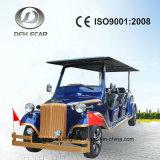 8 Seats Passenger Cart Sooter Classic Vintage Cart Gold Cart Electric Vehicle