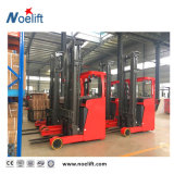 Seated Electrirc Truck 1.6&2.0ton, 3-7.5m PU Solid Tire, Full Free Mast, Curtis+AC, Ce ISO Seated Electric Reach Stacker Price