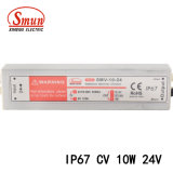 Smv-10-24 10W 24V 0.42A IP67 Constant Voltage Waterproof LED Driver