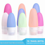 Five Colors Kitdine Portable Soft Silicone Travel Bottles Set