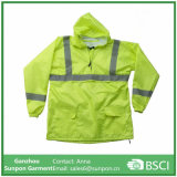Wholesales Reflective Rainsuit safety Rain Coat for Worker