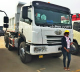 China FAW 6X4 20-30ton 15cbm Dump Tipper Truck