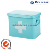 Household Sheet Iron Box with Cover