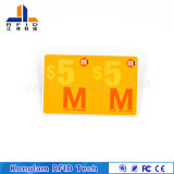 Recycle Overlay RFID Smart Card for Travel Tickets