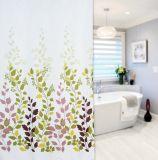 Shanghai DPF Textile Hotel Bathroom Linen 100%Polyester Waterproof Shower Curtain