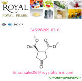 4-Oxo-Cyclopentane-Trans-1, 2-Dicarboxylic Acid Dimethyl Ester CAS: 28269-03-6 with 99% Made by Manufacturer