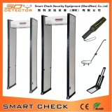 Single Zone Walk Through Metal Detector Gate Walk Through Body Checking Gate