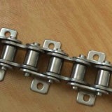 Food and Beverage Industry Stainless Steel Roller Chain with Attachment