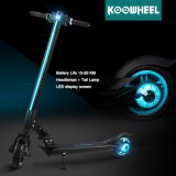 Koowheel Newest Design Portable Folding Electric Kick Scooter with LED Light