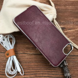 Eletroplate PU Leather Mobile Phone Case for iPhone 5/6/7/8