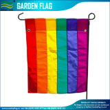 Personized Cmyk Digital Sublimation Decorative Rainbow Garden Flag