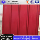 Building Material PPGL Color Coated Corrugated Roof Sheet Wave Tile