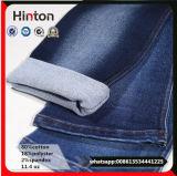 Comfortable Indigo Cotton Poly Spandex Jeans Denim Fabric