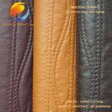 PU Garment Fabric in Stiching Design