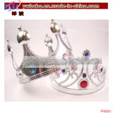 Hair Jewelry Plastic Tiara Crown Hair Decoration Kid Toy (P4053)