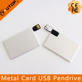 Promotion Wholesale Metal Card USB Flash Pen Drive (YT-3117)