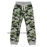 Allover Knitted Sweat Long Pants for Boy