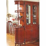 Wooden Wine Rack for Dining Room Furniture Cabinet