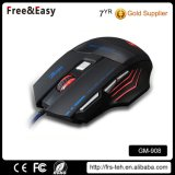 Computer Professional 7 Color Optical Wired Gaming Mouse