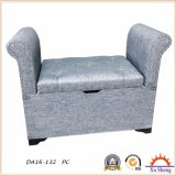 Living Room Furniture Wooden Lift Top Storage Ottoman Bench Loveseat