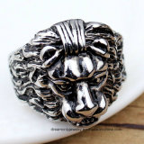 Latest Fashion Lion Head Rings Lion Finger Ring for Men Women Stainless Steel Lion of Judah Ring