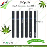 Ocitytimes Wholesale 300puffs Empty Disposable Electronic Cigarette for Cbd Oil