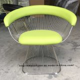 Metal Leisure Restaurant Cushion Outdoor Steel Furniture Wire Chair