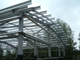 Galvanized Steel Frames for Steel Structure Buildings