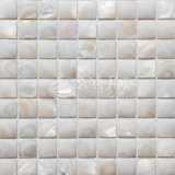 Natural Mother of Pearl Shell Glass Mosaic for House Decoration