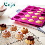 Mini Bundt Savarin Cake Pan Mould Silicone Mold Baking Mould